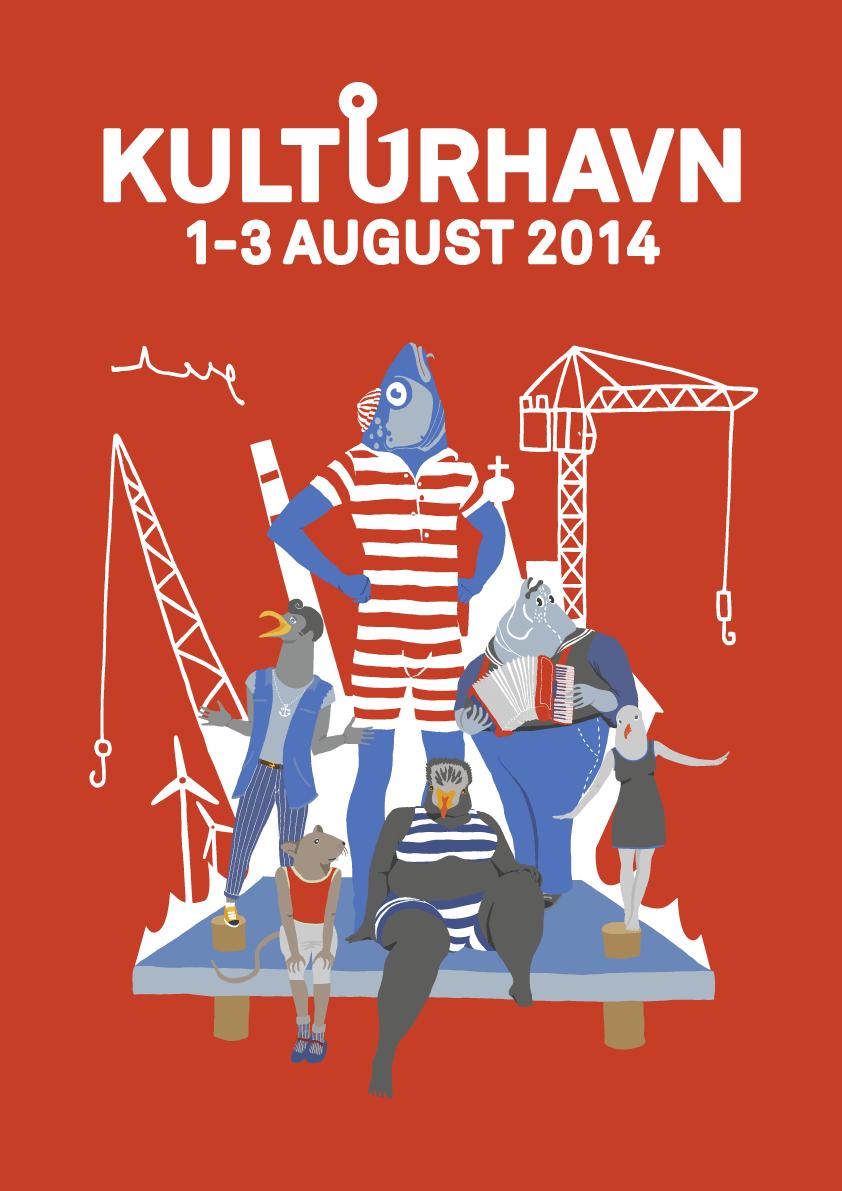 Kulturhavn 2014 poster