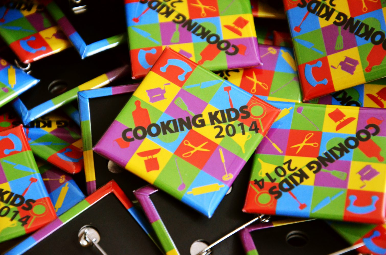 cooking kids badges