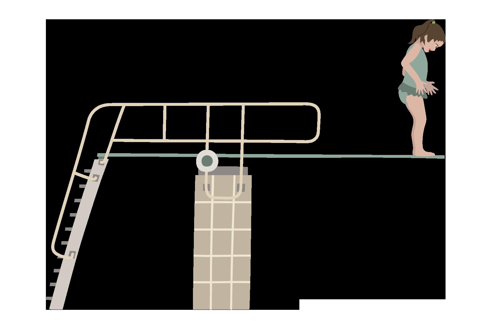 svømmehal vippe pige